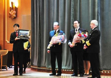 6田上長崎市長と長崎歓迎式典