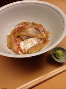浜作;鯛丼1