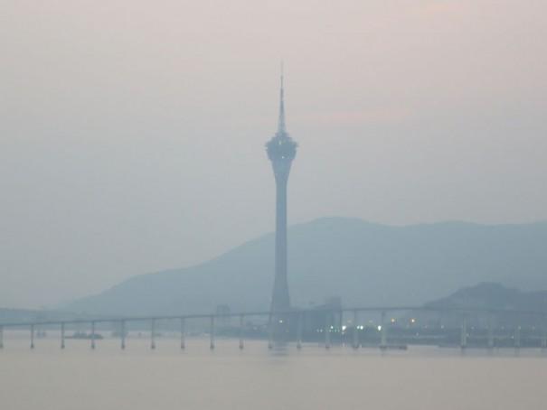 マカオに行くなら必ず訪れたいマカオタワー。