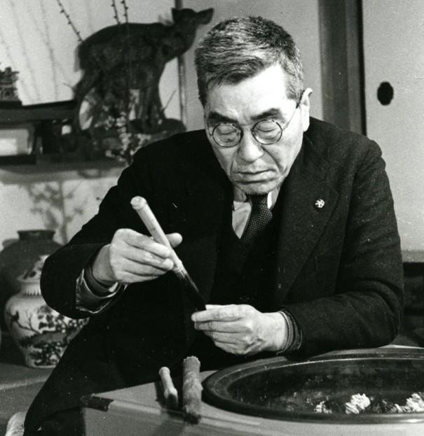 歌人にして古代美術の研究家だった会津八一。