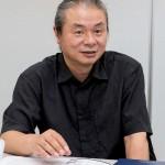 橋本夕紀夫(はしもとゆきお)さん。昭和37年、愛知県生まれ。デザイナー。東京工芸大学教授、東京藝 術大学非常勤講師。JCD優秀賞ほか、商業デザイン受賞歴多数あり。