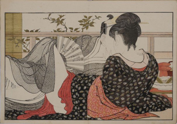 喜多川歌麿「歌まくら」〔浦上満氏蔵〕前期展示