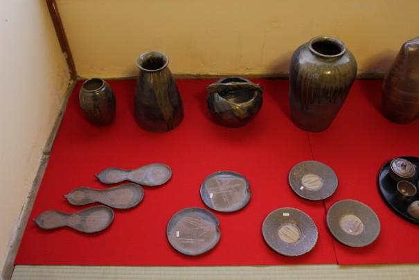 「ゆうゆう窯」の備前焼。陶芸作家青木有利子の作品。