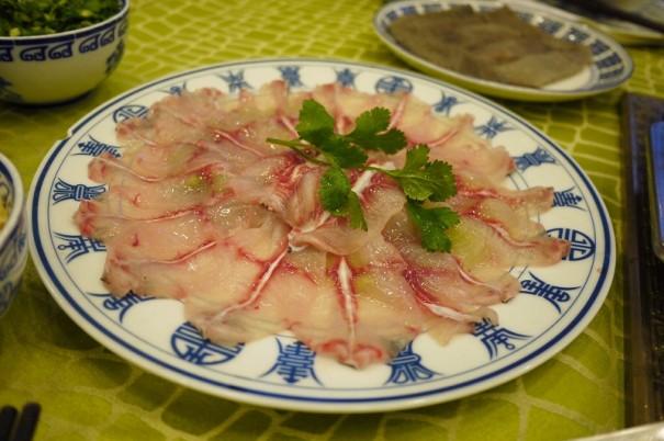 四川省は海のない地域。そのため、川魚をよく食べます。
