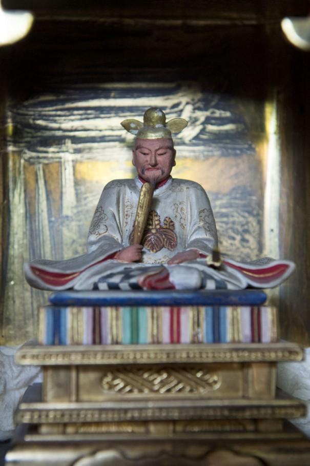 徳川家の目を盗んで弘前城内に祀られていた豊臣秀吉木像。