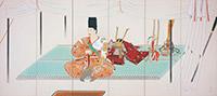 安田靫彦《黄瀬川陣(右隻)》〔重要文化財 1940-41年 東京国立近代美術館所蔵〕全期間展示