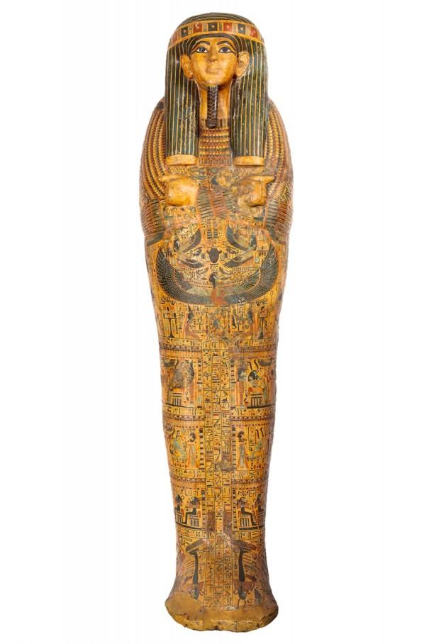大ピラミッド展・アメンエムペルムウトの彩色木棺 (1)