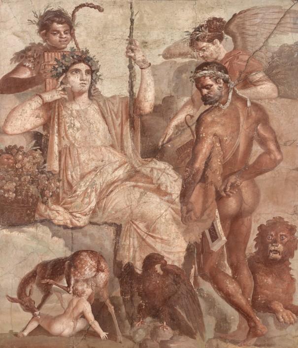 《赤ん坊のテレフォスを発見するヘラクレス》〔後1世紀 ナポリ国立考古学博物館蔵〕©ARCHIVIO DELL'ARTE-Luciano Pedicini / fotografo