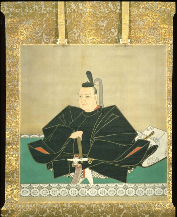 高照神社所蔵の津軽信政絵像。