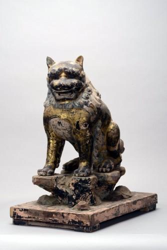 「第一殿 獅子」〔鎌倉時代、春日大社蔵〕