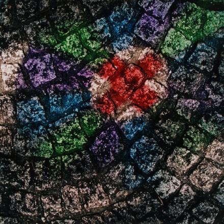 《ピンコロの石畳 麹屋町》〔2000年 長崎県美術館蔵〕©Shomei Tomatsu‐INTERFACE