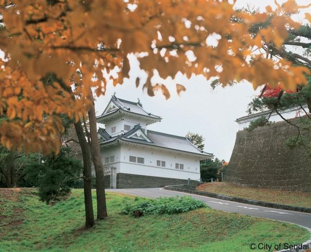 政宗が築城、約270年にわたり伊達家の居城だった仙台城。家康に敵意がないことを示すため天守閣はなかった(写真/仙台市観光交流課)