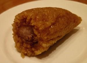 トリミング台北;鼎泰豊の豚肉入りちまき3