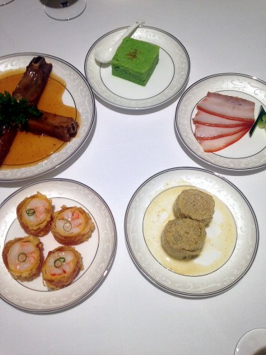 前菜5種。