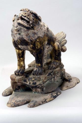 「第二殿 獅子」〔鎌倉時代、春日大社蔵〕