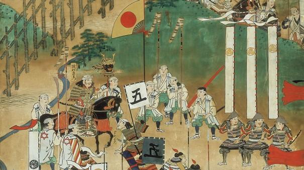 『長篠篠合戦図屏風』(犬山城白帝文庫)に描かれた徳川家康軍。過酷なストレスに身をさらした戦国武将にとって健康であることは重大な命題だった。