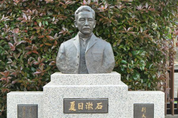 リサイズ漱石の銅像DSCF0200