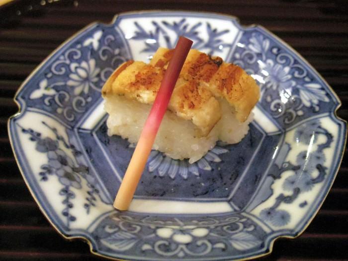 あなごの棒寿司。