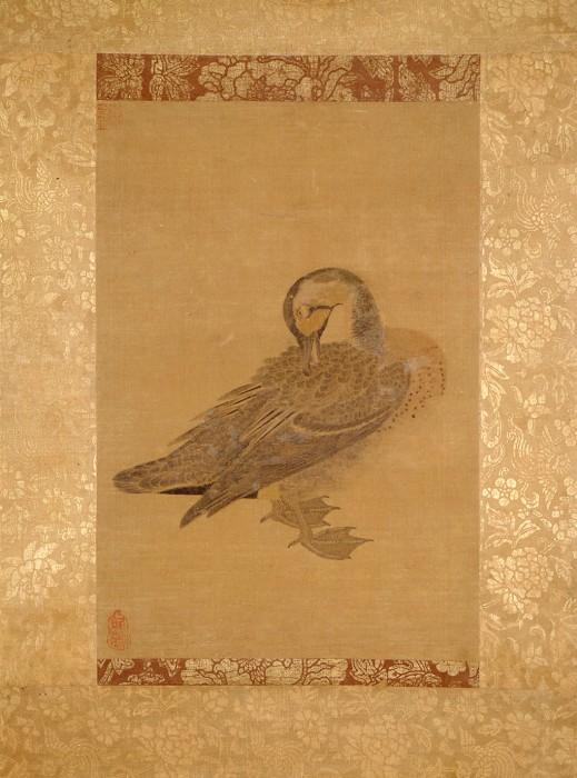伝徽宗皇帝「鴨図」南宋時代・13世紀 五島美術館