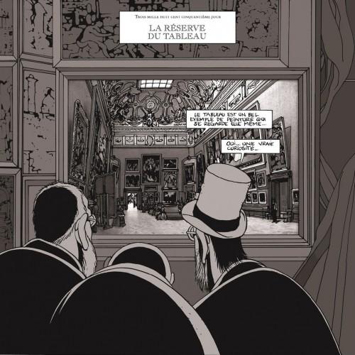 マルク=アントワーヌ・マチュー/『レヴォリュ美術館の地下-ある専門家の日記より-』ⒸFuturopolis /Musée du Louvre éditions 2006