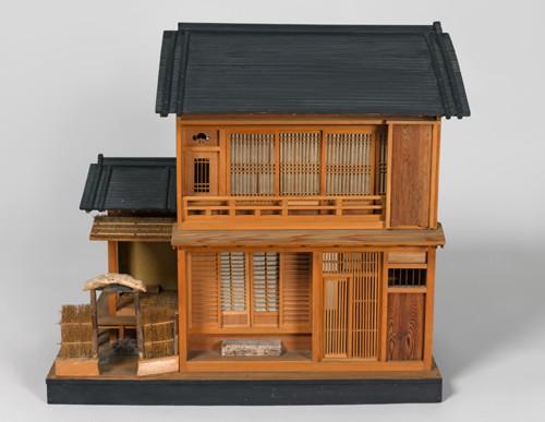 鳴滝の家屋模型〔ミュンヘン五大陸博物館蔵〕ⒸMuseum Fünf Kontinente