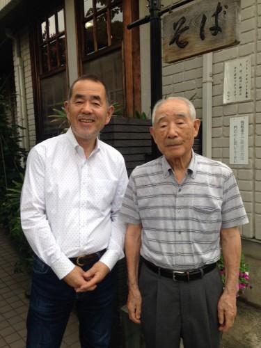 ご主人の田中國安さん、今年91歳です!(すきやばし次郎の小野二郎さんと同い年)