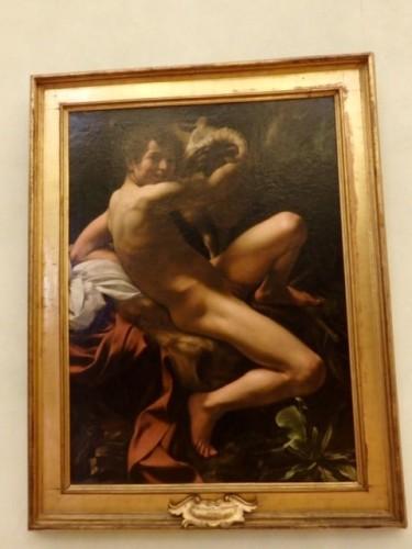 「洗礼者ヨハネ」ゲットーにある「亀の噴水」からヒントを得たと言われる作品。