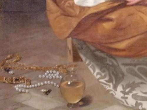 「マグダラのマリア」これも初期の作品。足元の真珠が気になる。