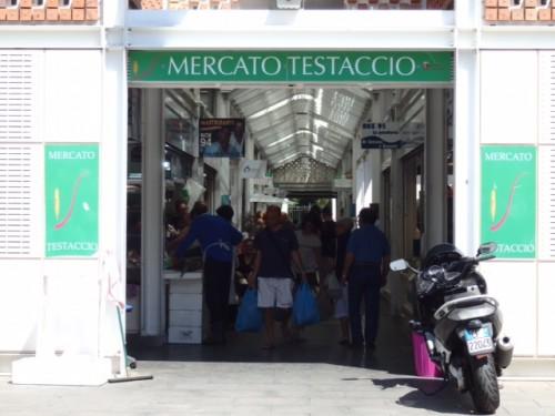 新テスタッチョ市場。