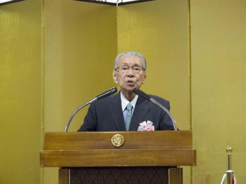 東京国立博物館名誉会員の林屋晴三さん
