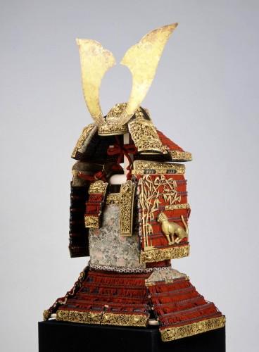 「国宝 赤糸威大鎧(あかいとおどしおおよろい)(竹虎雀餝)」提供:春日大社
