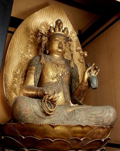 重要文化財「十一面観音菩薩坐像」 平安時代・10世紀 滋賀・櫟野寺蔵