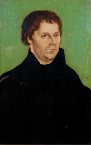 ルカス・クラーナハ(父)《マルティン・ルターの肖像》〔1525年 ブリストル市立美術館蔵〕©Bristol Museum,Galleries&Archives