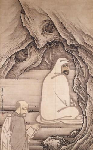 国宝 慧可断臂図 雪舟等楊筆 室町時代 明応5年(1496) 愛知・齊年寺蔵 11/8~11/27展示