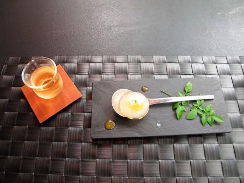 日本茶とスイーツのフルコース。