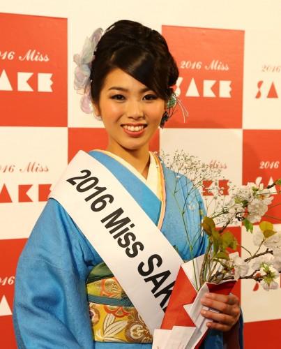 日本酒をPRするため世界で行われる日本酒イベントなどにも参加している美しい日本酒大使MISS SAKE。今回は3代目2016MISS SAKEとなる田中沙百合さんが華やかな着物姿で駆けつけ、会を華やかに演出する。記念撮影などにも気軽に応じてくれるので楽しみだ。