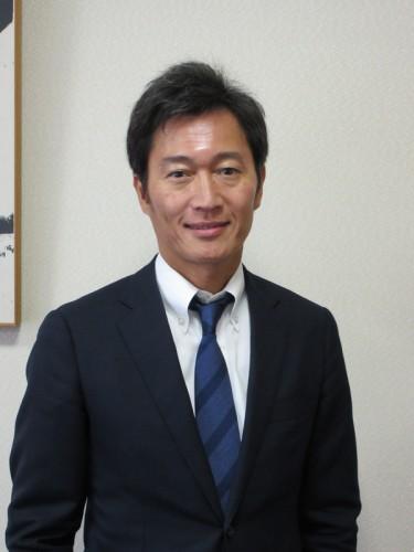 麒麟山酒造・代表取締役社長 齋藤俊太郎さん。