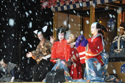 黒森歌舞伎②-酒田市教育委員会提供