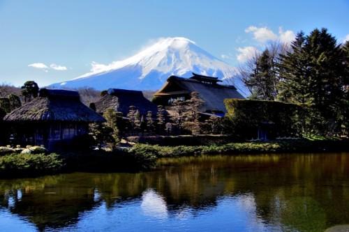 忍野八海と富士山(第1回)