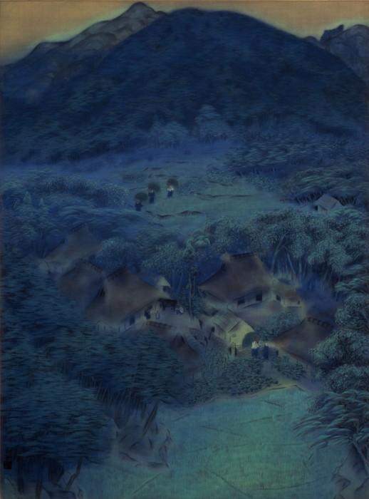 信じがたいほど美しい「闇」の色を間近で拝見!「速水御舟の全貌 ―日本画の破壊と創造―」展 | サライ.jp|小学館の雑誌『サライ』公式サイト