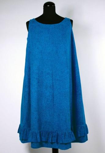 ジャクリーン・ケネディが購入したドレス≪ヘイルヘルマ≫、1959年ファブリック≪ナスティ≫(小さな無頭釘)、1957年、服飾・図案デザイン:ヴオッコ・ヌルメスニエミDesign Museum / Harry Kivilinna