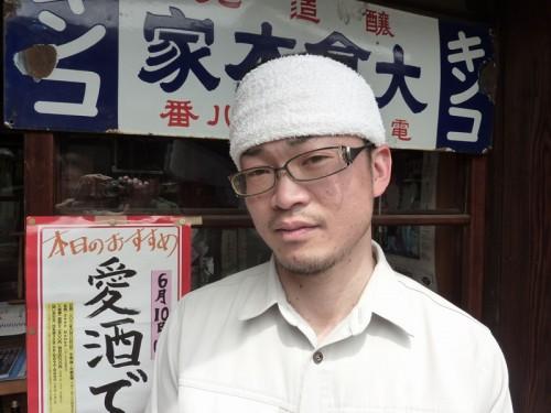 4代目 大倉隆彦さん。