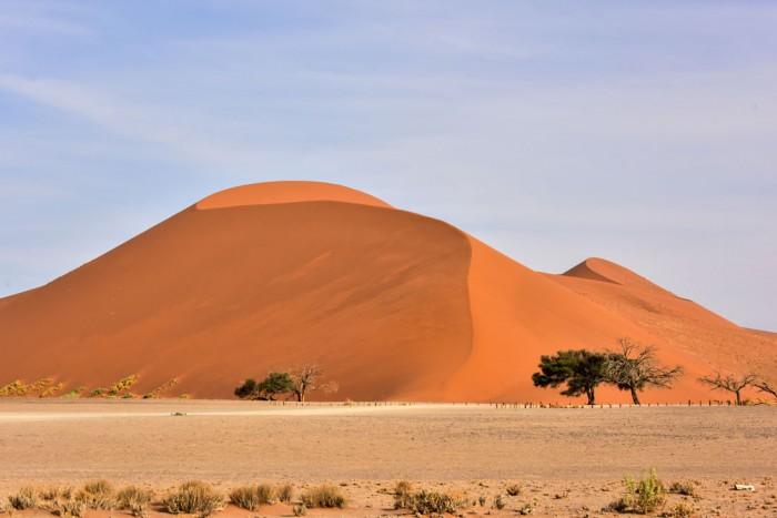 「デューン45」と名付けられた砂丘。