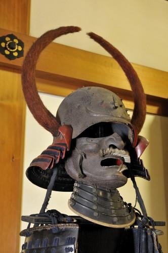 会津藩士の兜。
