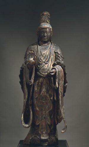 重要文化財 梵天立像 定慶作 鎌倉時代 建仁2年(1202)年 興福寺蔵