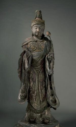 帝釈天立像 定慶作 鎌倉時代 建仁元年(1201)年 根津美術館蔵