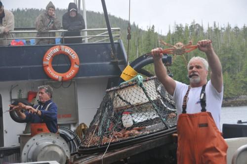 蟹漁船ツアー。