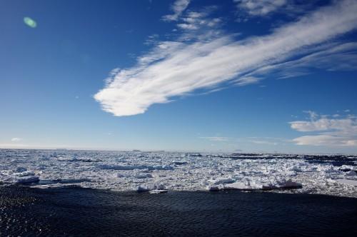 海氷域突入!