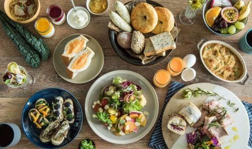 名古屋コーチンを使った「卵サンド」や、名古屋の食材をふんだんに使用した和洋多彩なメニューを取り揃える朝食ブッフェ。