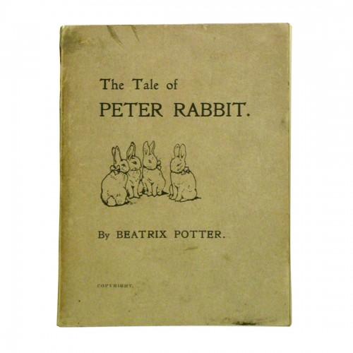 ビアトリクス・ポター《私家版『ピーターラビットのおはなし』初版》〔英国ナショナル・トラスト蔵〕